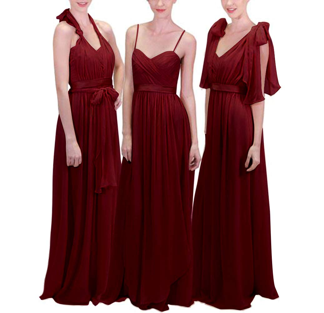 Chiffon Infinity Dress: Convertible Bridesmaid Dress: Amazon.com