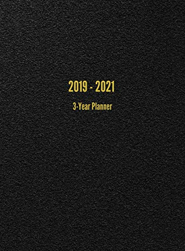 2019 - 2021 3-Year Planner: 36-Month Calendar (Black) by I. S. Anderson (Image #3)