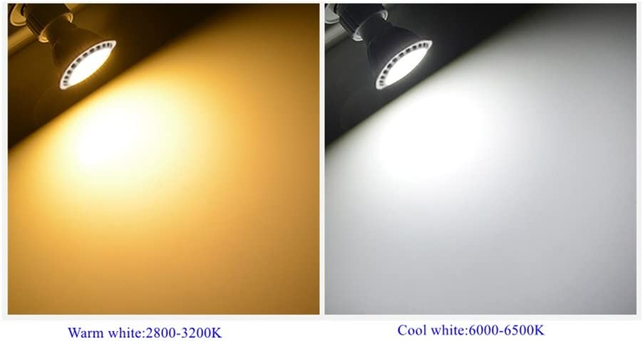 GU5.3 Spot Light AC//DC 24V 36V 5W MR16 LED Bulb Warm White//Cool White 60 Degree Beam 400-450lm 50W Halogen Equivalent 5-Pack HHF LED Bulbs Lamps Color : Cool white, Edition : AC//DC 24V