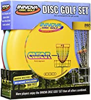 Innova Disc Golf Set – Driver, Mid-Range & Putter, Comfortable DX Plastic, Colors May Vary (3 P