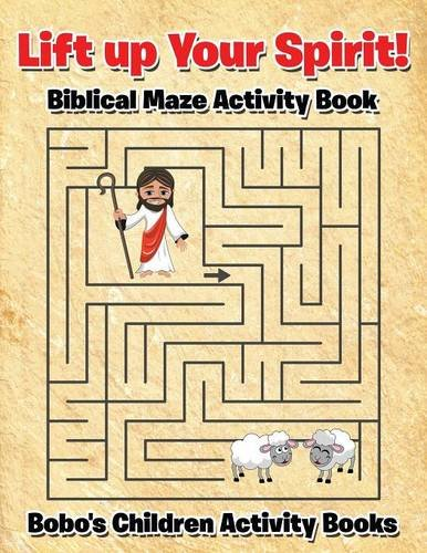 Price comparison product image Lift up Your Spirit! Biblical Maze Activity Book