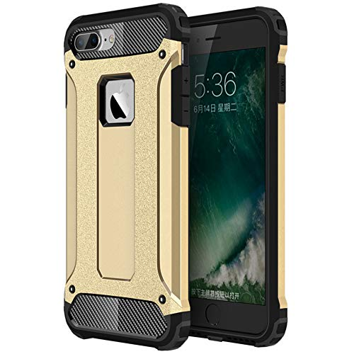 Armor Back Case for iPhone 11Screen Protector Kit Free2 in 1 Hybrid [Hard PC + Soft TPU] Dual Layer Heavy Protection Cover for iPhone 11 Gold / Armor Back Case for iPhone 11Screen Protector Kit Free2 in 1 Hybrid [Hard PC + Soft TPU...