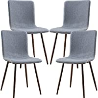POLY & BARK EM-287-GRY-X4-A Wadsworth Dining Chair with...