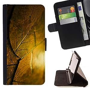 Jordan Colourful Shop - krysha krovlya sloy list For Sony Xperia M2 - < Leather Case Absorci????n cubierta de la caja de alto impacto > -