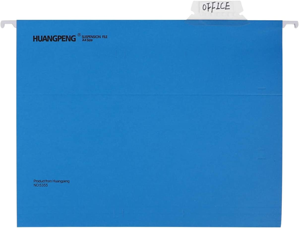 Cartellina per cartella sospesa verticale 14 pezzi in cartone rinforzato porta documenti