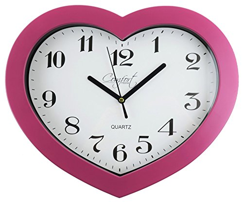 Comfort Home Heart Clock - Heart Shaped Clock