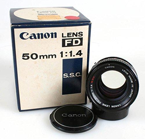 CANON 50MM F1.4 S.S.C. LENS FD MOUNT IN ORIG. BOX