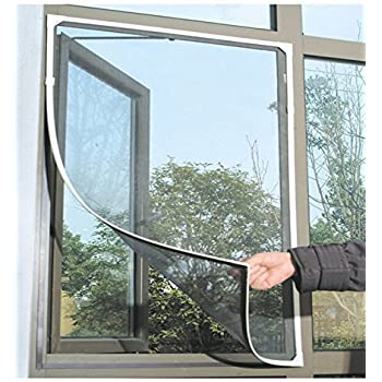 Kittymouse Anti Mosquito Bug Insect Fly Window Screen Mesh Net Curtain  Black (2)