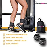 Ankle-Straps-By-Healthy-Model-Life-Maximize-Cable-Machine-Workouts-with-Durable-Cuffs-for-Ab-Leg-Glute-Exercises-First-Rate-Fitness-Equipment-for-Women-Men