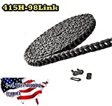 415H Heavy Duty Motorcycle Chain 98 Links with1 Connecting Link