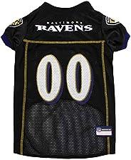 NFL Baltimore Ravens Dog Jersey, Small