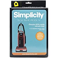 simplicity synergy hepa bags for model s40 and s40p