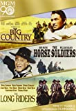 Big Country, The / The Horse Soldiers / The Long Riders Triple Feature