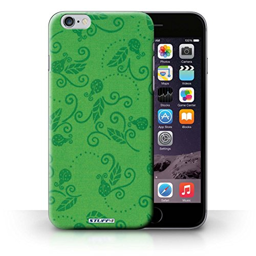 Etui / Coque pour iPhone 6+/Plus 5.5' / Vert conception / Collection de Motif Coccinelle