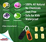 SKEETER! Mosquito Repellent Clips, 100% All Natural
