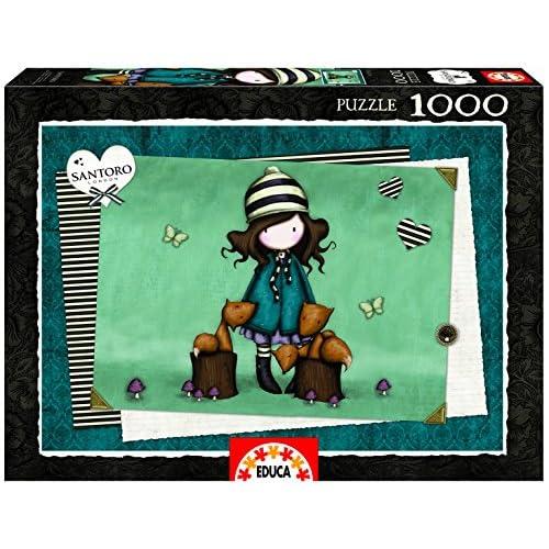 Educa Puzzles Puzzle The Foxes, 1000pièces (16298)