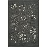 Safavieh Courtyard Collection CY1906-3908 Black and Sand Indoor/Outdoor Area Rug (9′ x 12′) Review