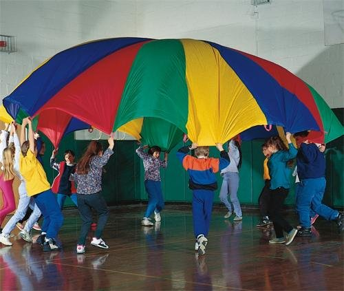 20 Foot Diameter Parachute Movement Activities