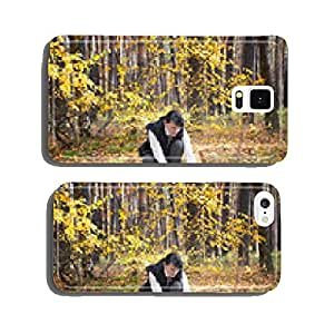 Girl mushrooms in the forest cell phone cover case iPhone6