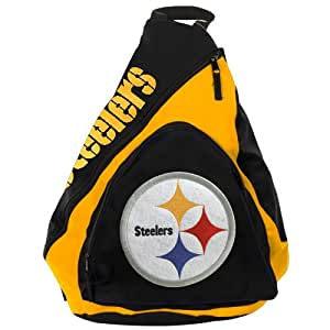NFL Pittsburgh Steelers Slingback Sling Bag, Gold