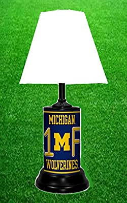 Amazon.com: Michigan Wolverines NCAA – Lámpara por Tagz ...