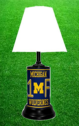 MICHIGAN WOLVERINES NCAA LAMP - BY TAGZ SPORTS ()