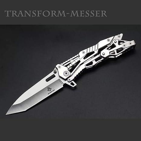 NedFoss Tanto Navaja Plegable Cuchillo de una Mano Cuchillo para Exteriores Cuchillo de Bolsillo EDC Carpeta para Herramientas de Bolsillo, 8,5 cm ...