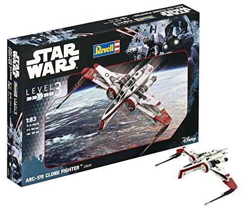 Revell Star Wars Rogue One ARC-170 Fighter Model Kit ()