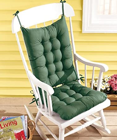 Rocking Chair Cushion Set   Green