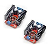 Gowoops 2PCS 150W DC-DC 10-32V to 12-35V Step Up Boost Converter Module Adjustable Power Voltage