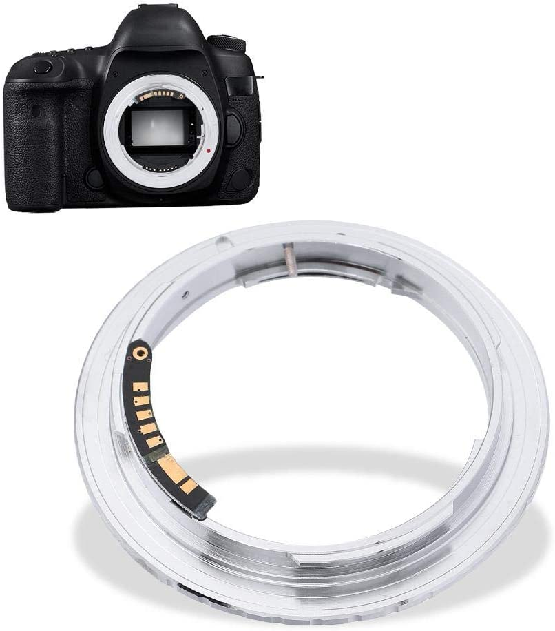 Xinwoer Camera Lens Adapter with Electric Contact for Lens for Cameras