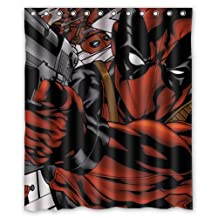 Contracted Game and Comics Deadpool Custom Shower Curtain 60x72 Inch Enjoy