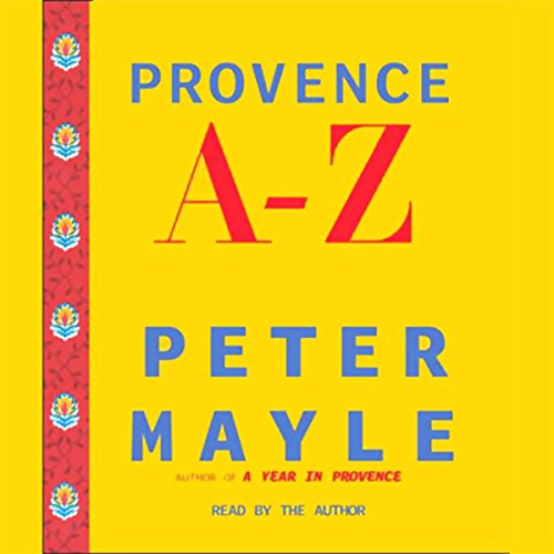 Provence A-Z by Books on Tape