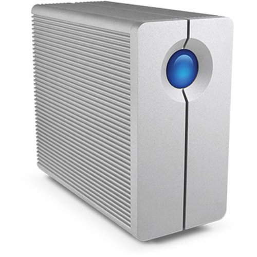 LaCie 2big Quadra 8TB - Unidad de Disco múltiple (8000 GB, 4000 GB, 32 MB, 100-240V, 50/60 Hz, 600 MB)