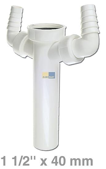 Ajuste de tubo de 40 mm de diámetro 3.81 cm de conexión de la ...