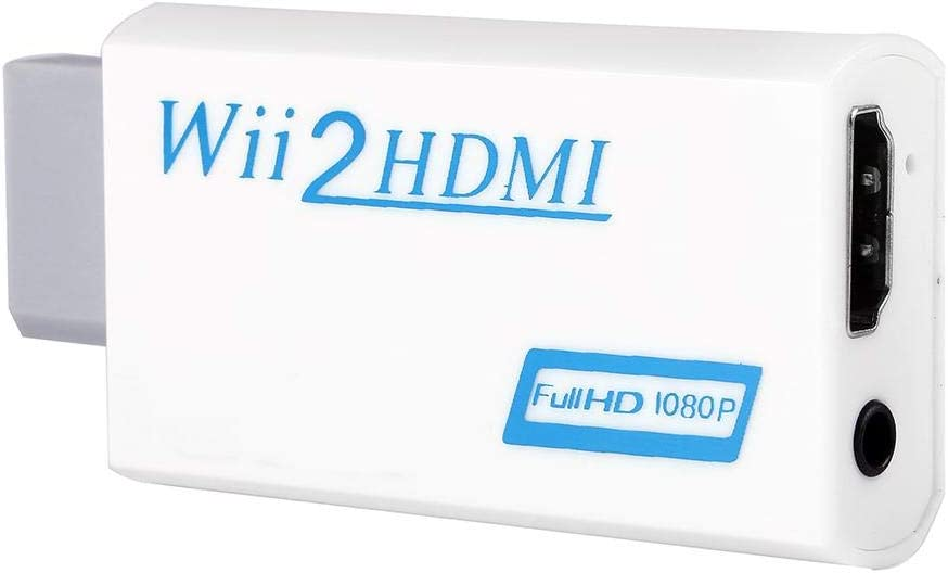 Convertidor de Wii a HDMI, Adaptador de Entusiasta del Juego de Salida 720P / 1080P Coverup del Adaptador de Upscaling: Amazon.es: Electrónica