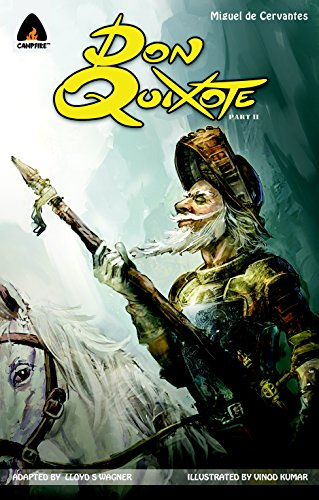 Don Quixote, Part II: The Graphic Novel (Campfire Graphic Novels)