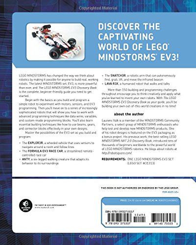 The LEGO MINDSTORMS EV3 Discovery Book: A Beginner's Guide to Building and Programming Robots by No Starch Press (Image #2)