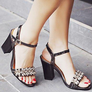 pwne Sandalias De Mujer Zapatos Formales Polipiel Primavera/Otoño Fiesta De Cumpleaños Fiesta De Verano/Noche Gracias Graduación Zapatos Formales Diarias De Negocios US8.5 / EU39 / UK6.5 / CN40