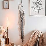 JOBOSI Dreamcatcher Moon Gray, Room Decor, Boho