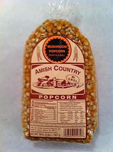 Amish Country Popcorn Mushroom 2 Pound Bag