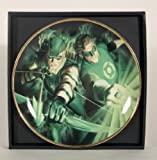 Green Lantern & Green Arrow Collector's Plate by Alex Ross
