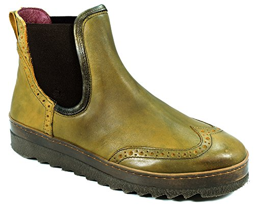 dkode, mujer,–Botines Romey Yellow/Gold Metal 006
