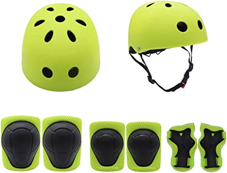 L.J.JZDY Casco de Ciclista Bicicleta for niños Casco y ...