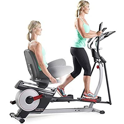 "17"" Adjustable Cushioned Seat, Built-In Power, Hybrid Trainer Pro, Black"