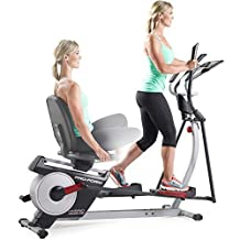 17 Adjustable Cushioned Seat, Built-In Power, Hybrid Trainer Pro, Black by ProForm