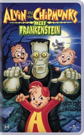 Alvin & The Chipmunks Meet Frankenstein [VHS] (Watch Selma)