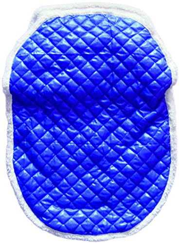 Tadpoles Quilted Nylon Stroller Cover, Royal Blue