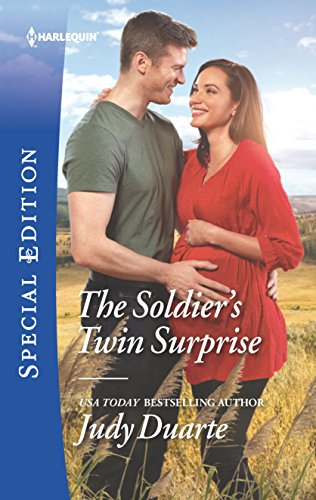 The Soldier's Twin Surprise (Rocking Chair Rodeo Book 2632) (Hawaiian Chairs)