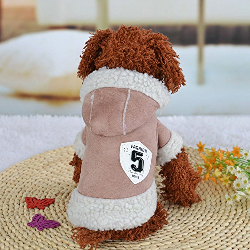 11 Dress Puppy Christmas XS Father 5 AU Vest Jumper Jacket Clothes Dog Pet Knitted Pink Puppy Hoodie Winter XL Sweatshirts Sweater qUpWO6PcwS